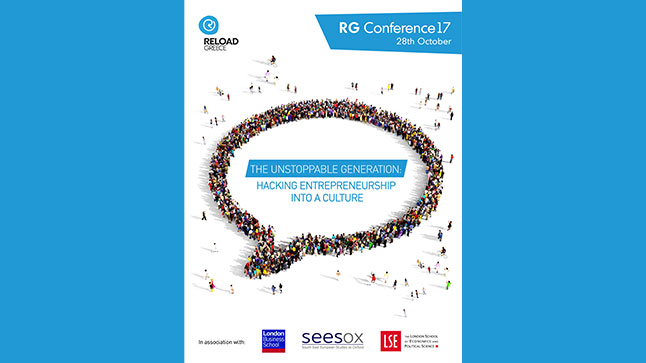 Congresses | RG Conference17 'The Unstoppable Generation: Hacking Entrepreneurship into a Culture'