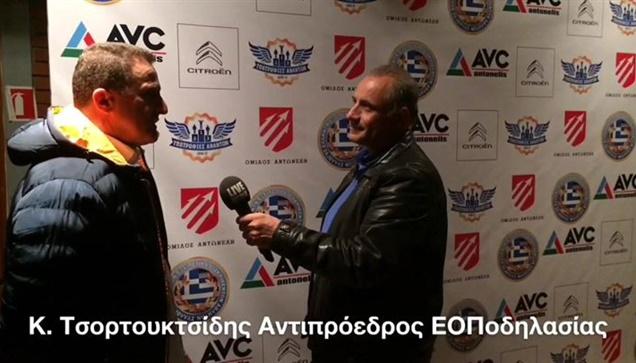 Ο Αντιπρόεδρος της Ελληνικής Ομοσπονδίας Ποδηλασίας μιλάει στην...