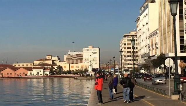 Η αναχώρηση του ιστορικού Θωρηκτού Αβέρωφ από το Λιμάνι της Θεσσαλονίκης...