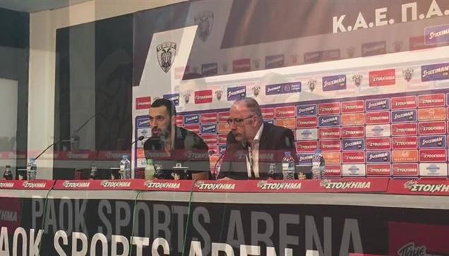 Οι δηλώσεις του Λίνου Χρυσικόπουλου μετά τη νίκη επι της ΑΕΚ....