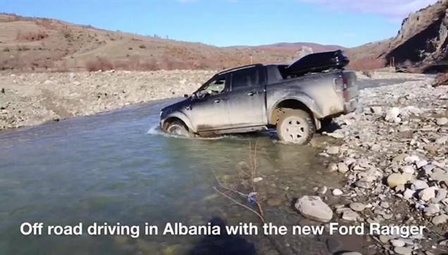 Με το νέο Ford Ranger off road στην Αλβανία