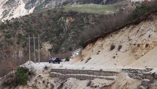 2η μέρα off road driving in Albania με το βελτιωμένο Ford Ranger...