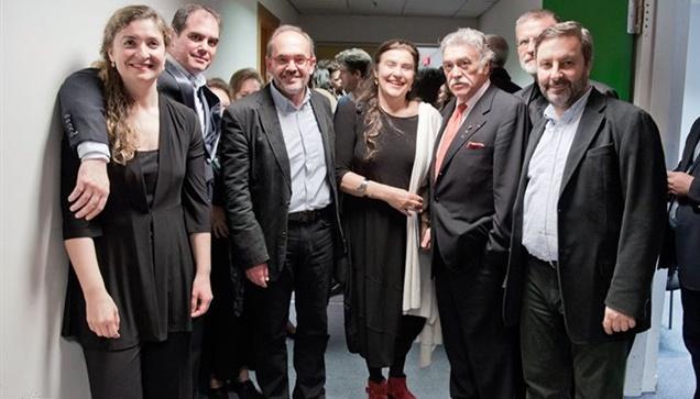 Συγκίνηση στη συναυλία της ΚΟΘ στο Μέγαρο Μουσικής Θεσσαλονίκης...