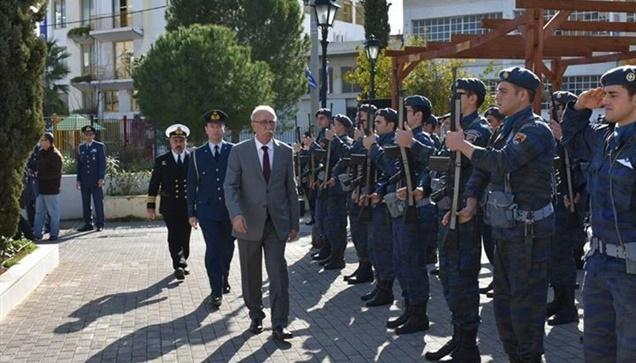 Ο Αναπληρωτής Υπουργός Εθνικής Άμυνας Δημήτρης Βίτσας, σήμερα...