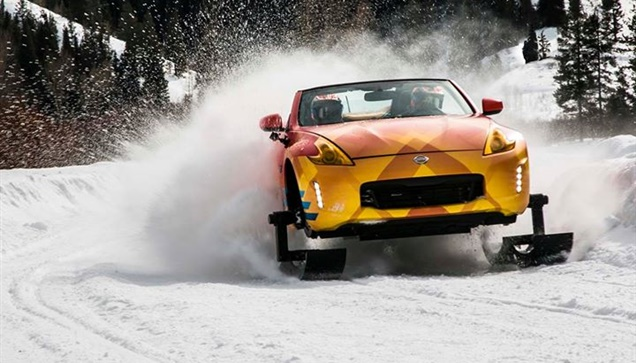 """Η Nissan αποκάλυψε τα  """"χειμερινά"""" 370Zki και Armada Snow Patrol..."""