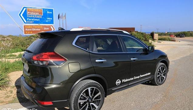 Στο Κάβο Γκρέκο με Nissan X -trail 2.0d 4wd Πρεσβευτής της περιπέτειας!...