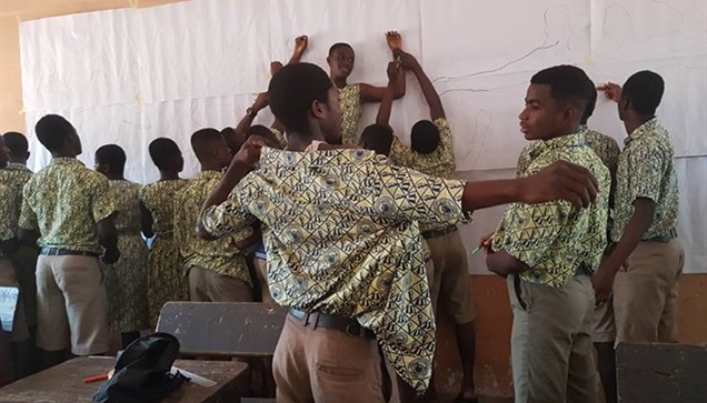 """""""To WE AfriHug Project στη Γκάνα"""" Μετά από το Τόγκο, η ομάδα του WE AfriHug συνέ..."""