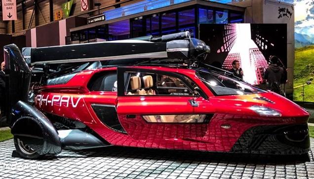 PH-PAV   Το αυτοκίνητο που πετάει!   Μόλις €500.000 σας χωρίζουν...