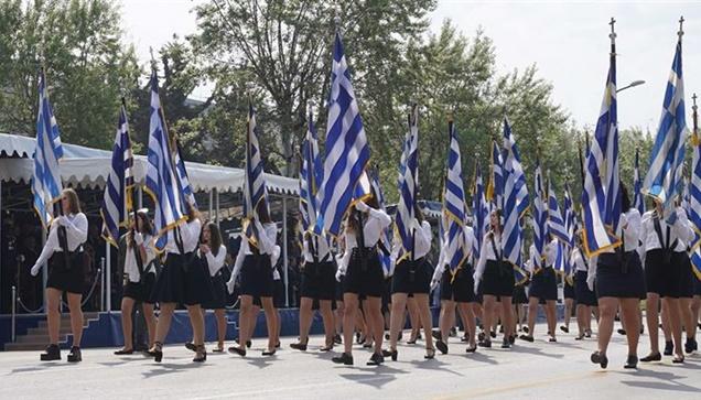 Μαθητική Παρέλαση Θεσσαλονίκη 25η Μαρτίου 2018