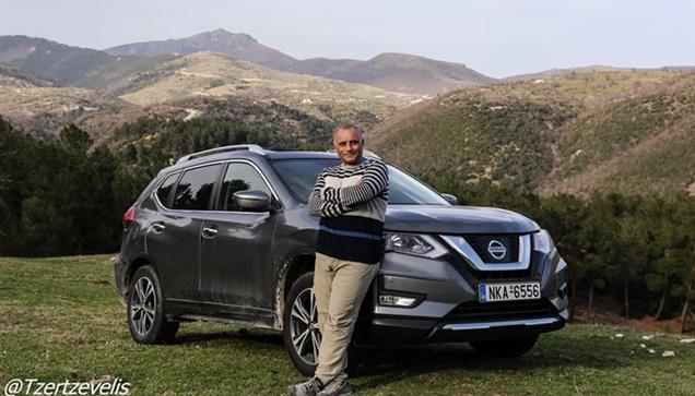 Στον Λαιλιά με Nissan X-trail 1.6d 4wd    Η περιπέτεια της διπλανής...