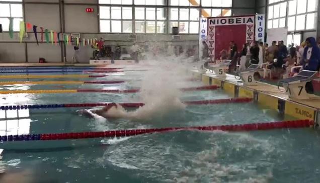 Οι Κολυμβητικοί Αγώνες ΑΜΕΑ που διεξήχθησαν στο Ποσειδώνιο της...