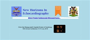 New Horizons in Echocardiography Johannesburg | 10th Annual conference