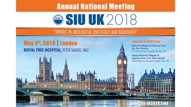 "Congresses | SIU UK 2018 | ""Trends in Urological Oncology & Radiology"""