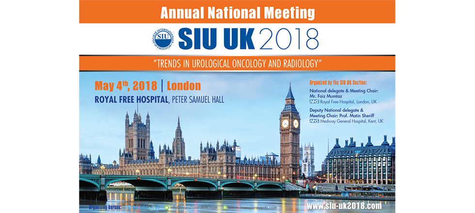 "SIU UK 2018 | ""Trends in Urological Oncology & Radiology"""