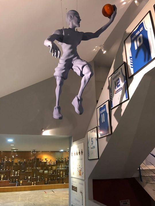 Το μοναδικό Μουσείο Μπάσκετ στη χώρα βρίσκεται εκεί που το 1919 πρωτοχτύπησε μπά...