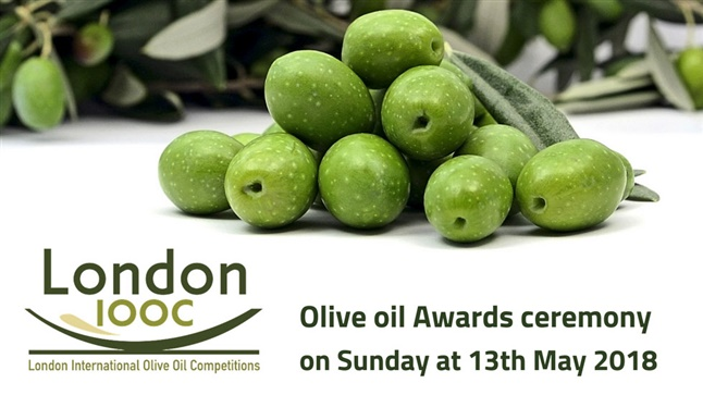 London Olive oil Awards ceremony 2018