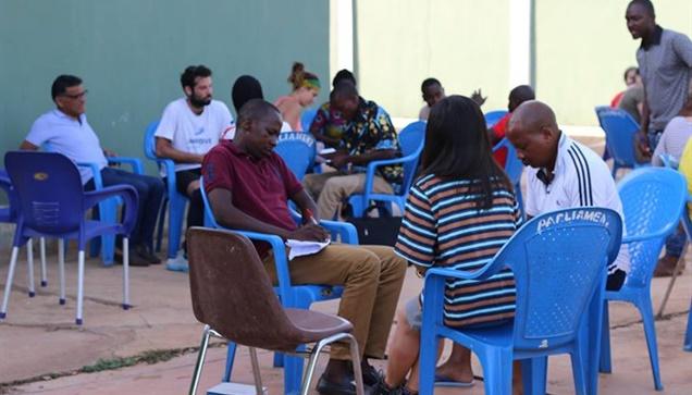 """""""Η ομάδα του WE AfriHug συμμετέχει στο ευρωπαϊκό πρόγραμμα STEP Forward στο Ταμά..."""