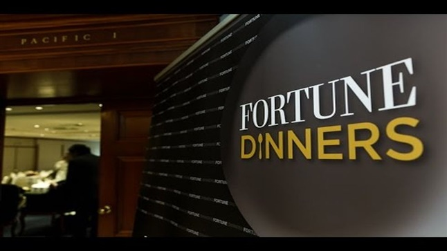 Events | 40 Under 40 Fortune Dinners