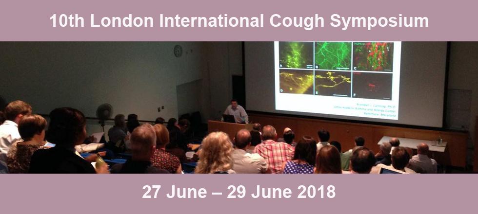 10th London International Cough Symposium 2018