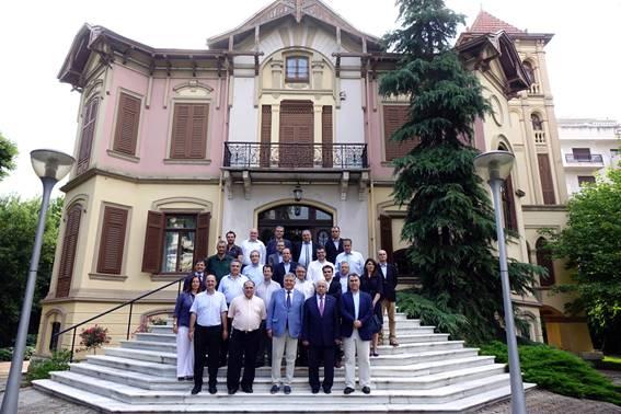 Συνεδρίαση Διοικητικού Συμβουλίου ΣΕΒΕ στο εμβληματικό Κτίριο...