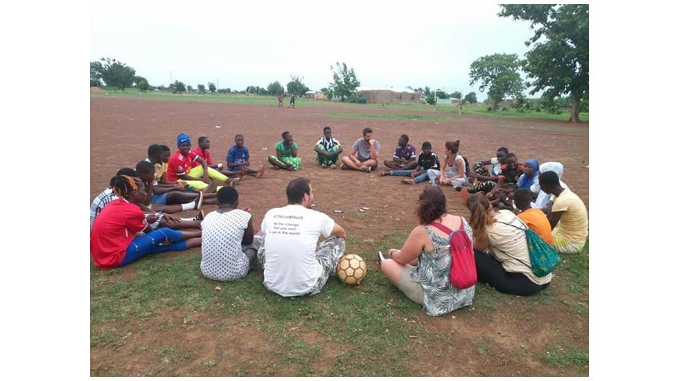 Οι δραστηριότητες του WE AfriHug στο Ταμάλε