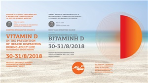 Vitamin D, in the prevention of health disparities during adult life, mediterranean experts meeting