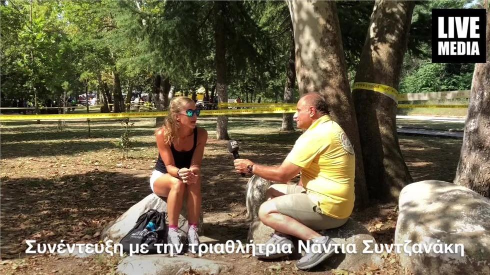 """Συζητώντας ..με την Νάντια Συντζανάκη την Ελληνίδα """"iron woman""""..."""