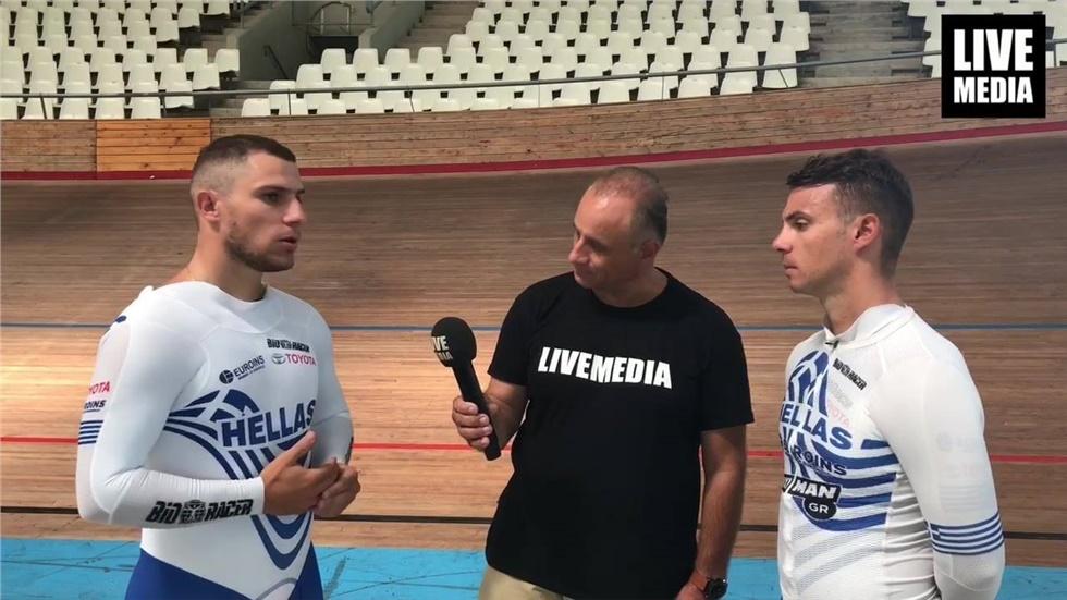 Αποκλειστική Συνέντευξη στο Livemedia των Αδερφών Βολικάκη, Παγκόσμιων...
