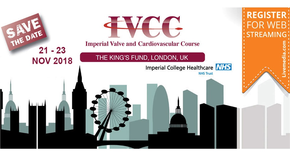 Congresses | Imperial Valve and Cardiovascular Course 2018 | London