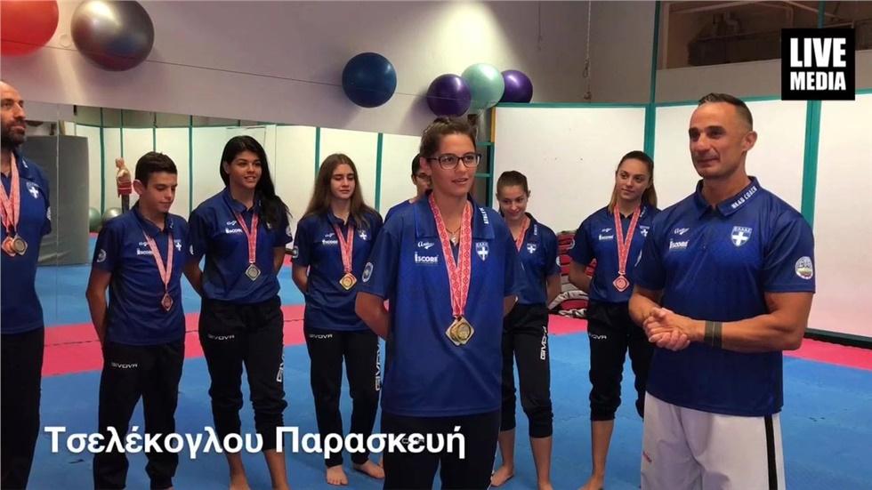 Οι Παγκόσμιες Πρωταθλήτριες Τσελέκογλου και Καμτσόγλου μαζί με...
