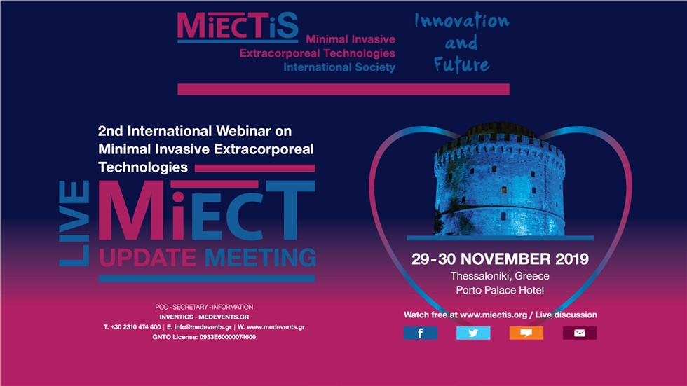 2nd MiECT Update Meeting 2019