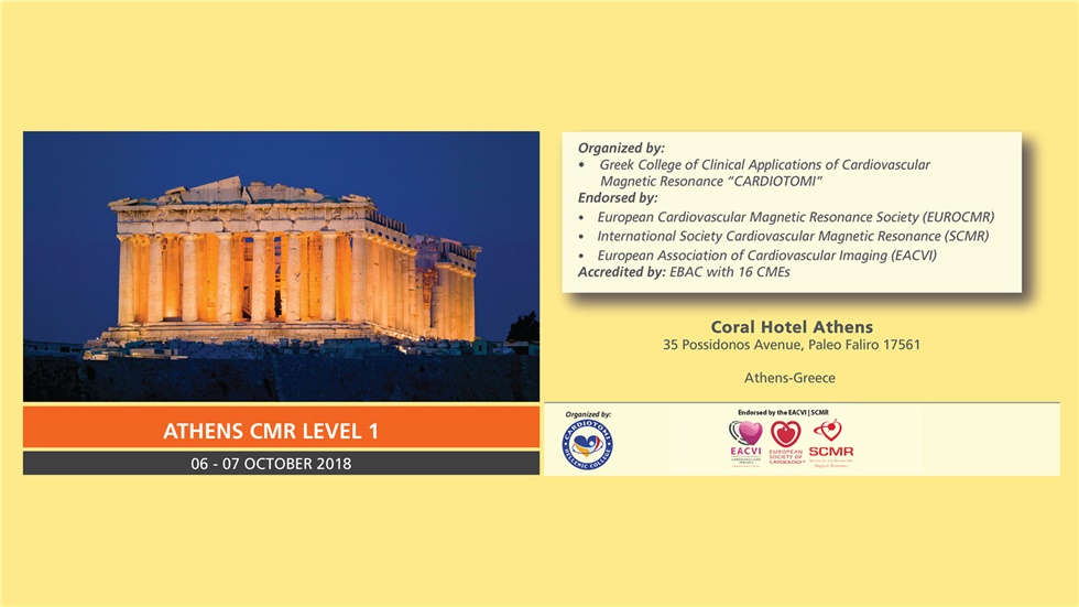 Congresses | ATHENSCMR LEVEL 1 | 06 -07 October
