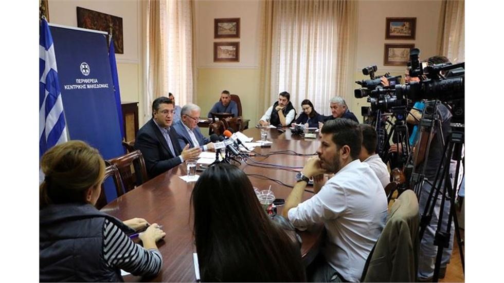 Η Περιφέρεια Κεντρικής Μακεδονίας χρηματοδοτεί την κατασκευή...