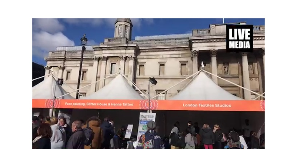 Africa on the square - A big African festival in the heart of London.   #africao...