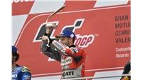Με νίκη έκλεισαν το Moto GP  Ντοβιτσιόζο και  Ducati    #Ducati...