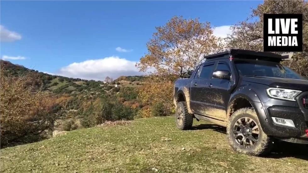 Στα Μετέωρα... για περιπέτειες με Ford Ranger 3.2TDci  by vrohidis...