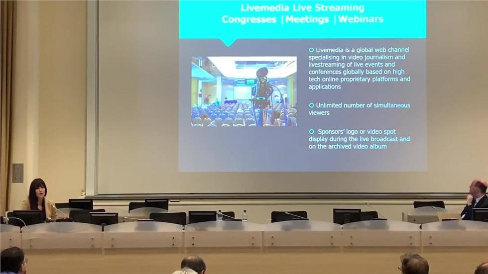 Η παρουσίαση του Livemedia στους προμηθευτές του Cern