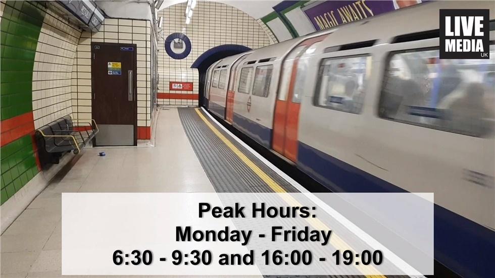 Τα ταξίδα με τα μέσα μαζικής μεταφοράς του Λονδίνου είναι ακριβή...