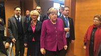 Η επίσκεψη της Ανγκελα Μέρκελ στη Γερμανική Σχολή Αθηνών