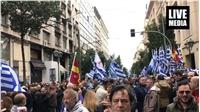 Ο παλμός του συλλαλητηρίου για τη Μακεδονία.