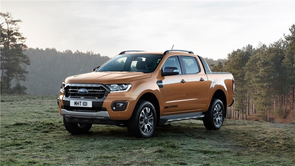 Το νέο Ford Ranger μπορεί να ρυμουλκήσει 15 τροχόσπιτα