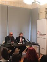 Στιγμιότυπα από τη Συνέντευξη Τύπου του Κ. Ζέρβα.