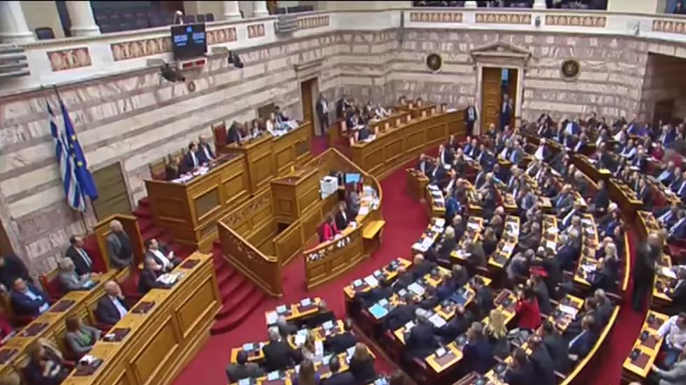 Ζωντανά η συζήτηση στη βουλή για την ένταξη των Σκοπίων στο ΝΑΤΟ