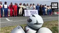 «ΟΔΗΓΩ ΜΕ ΑΣΦΑΛΕΙΑ»   #aoth Οι αθλητές του Αυτοκινητιστικού Ομίλου...
