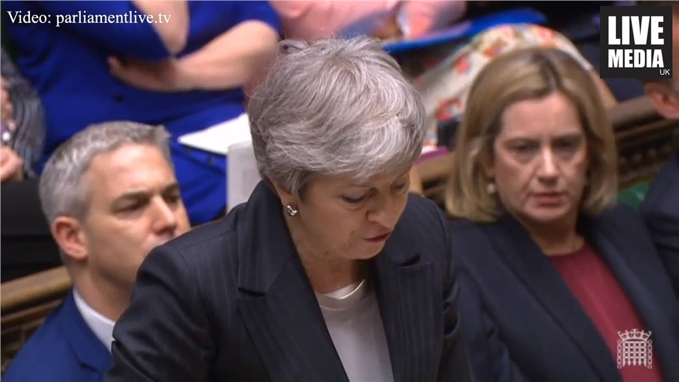 Theresa May confirmed in the House of Commons that she formally...