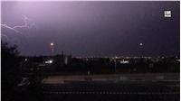 Κεραυνοί στην Θεσσαλονίκη    #thunders #weather