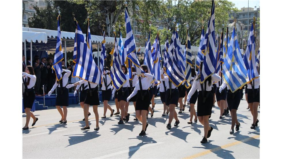 Μαθητική Παρέλαση   Θεσσαλονίκη   25η Μαρτίου 2019