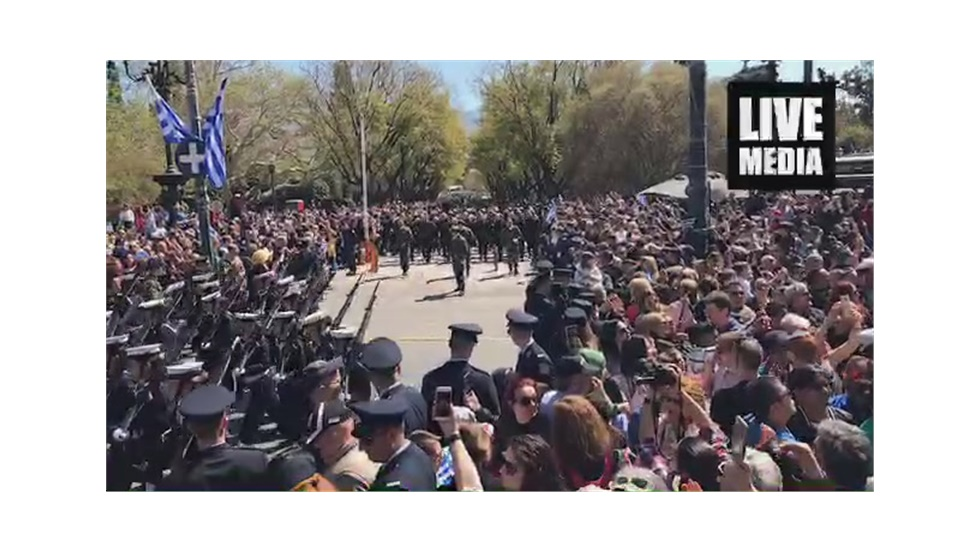 Live - Ζάππειο Στρατιωτική παρέλαση 25η Μαρτίου 2019 Αθήνα