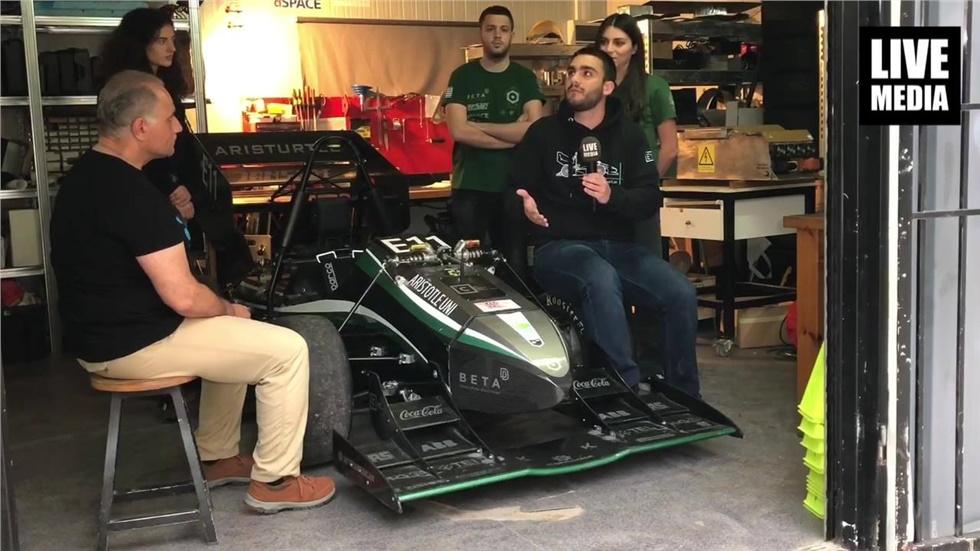 Video - Aristotle University team Electric