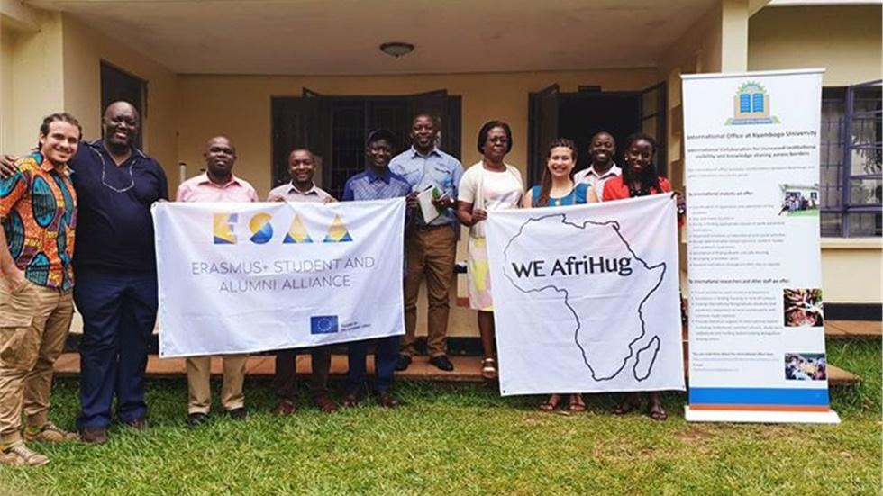 Το WE AfriHug πίσω στο «Μαργαριτάρι της Αφρικής»